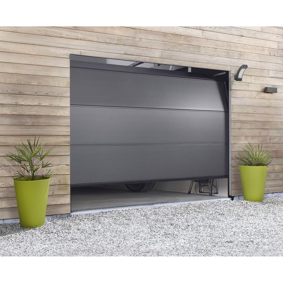 Porte de garage sectionnelle à habiller