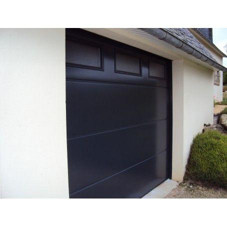 Porte de garage sectionnelle avec ou sans portillon