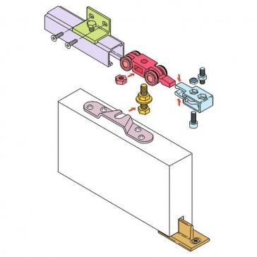 Porte de garage sectionnelle descours et cabaud