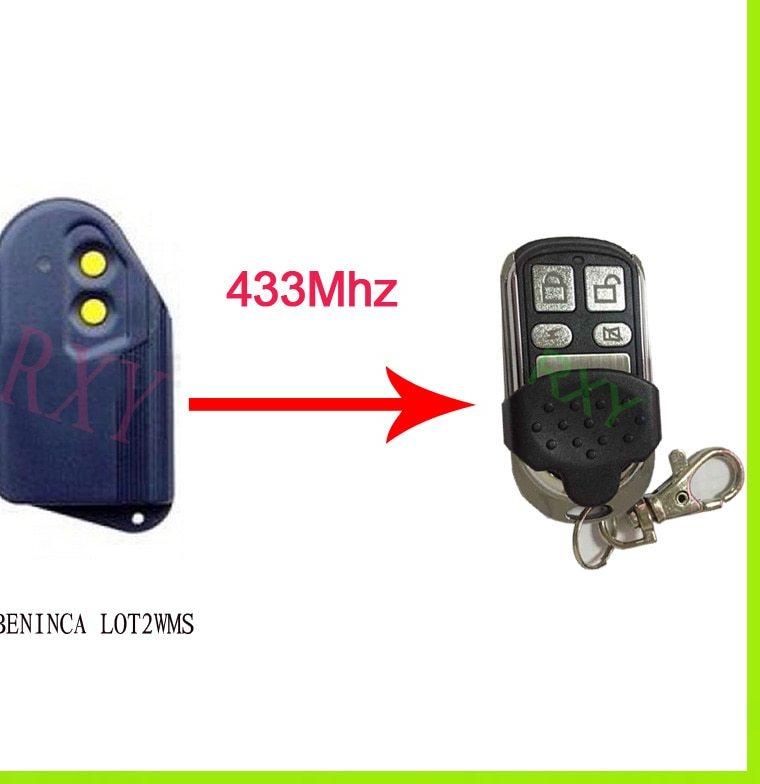 Telecommande porte de garage beninca