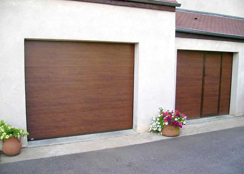 Porte de garage sectionnelle fame la verticale