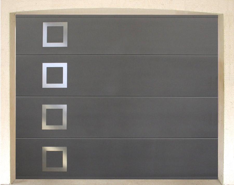 Porte de garage sectionnelle verticale fame