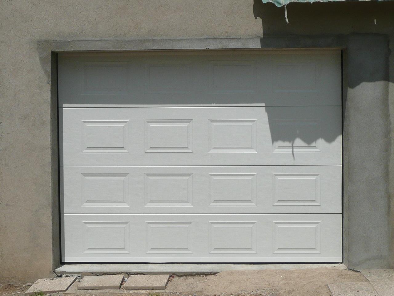 Prix porte de garage sectionnelle en kit