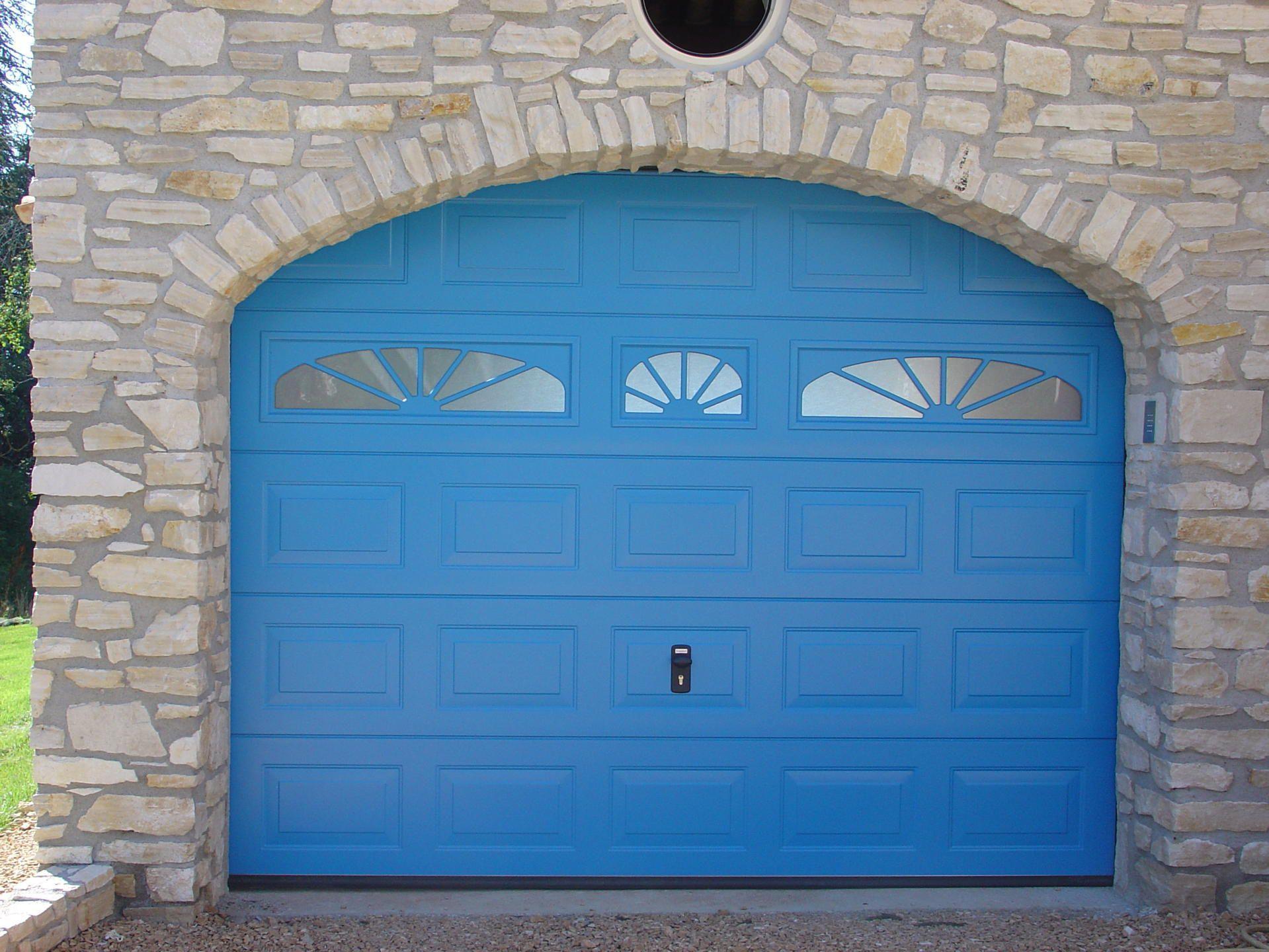 Porte de garage sectionnelle brico
