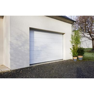 Moteur silencieux porte de garage sectionnelle