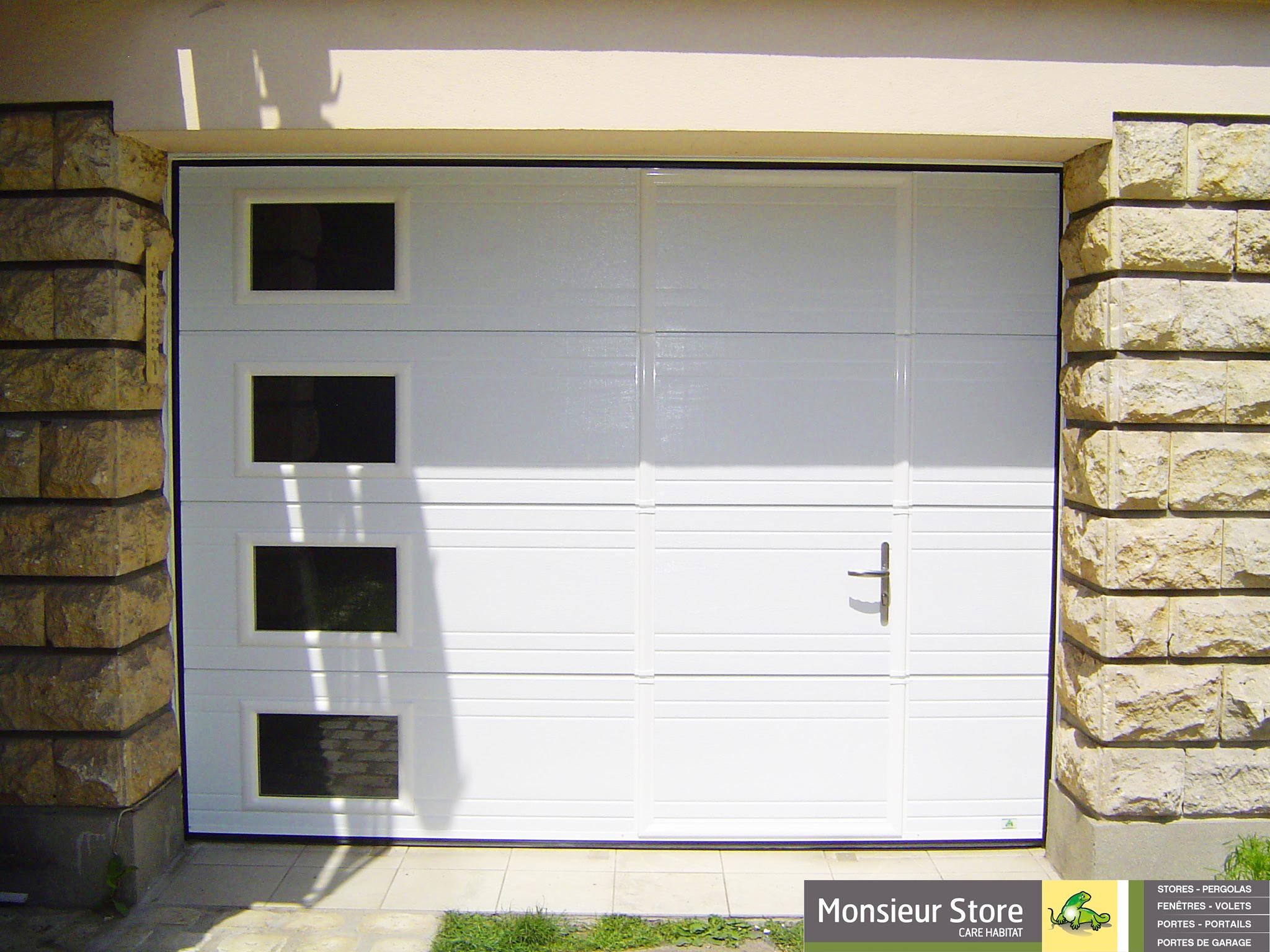 Porte de garage sectionnelle essonne