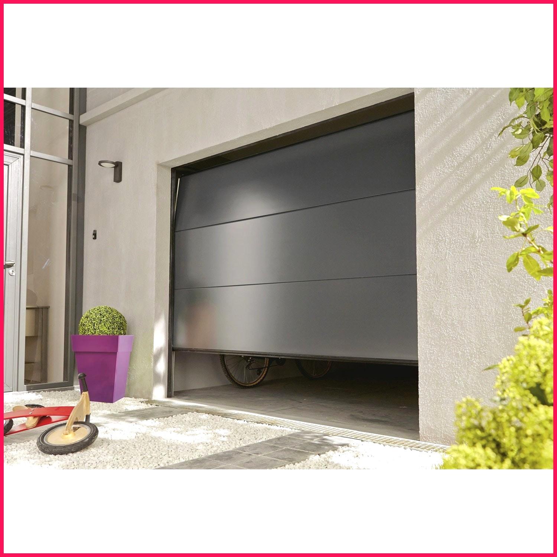 Porte de garage sectionnelle motorisée 6m