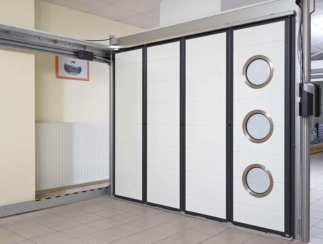 porte de garage basculante motorisee bois eco. Black Bedroom Furniture Sets. Home Design Ideas