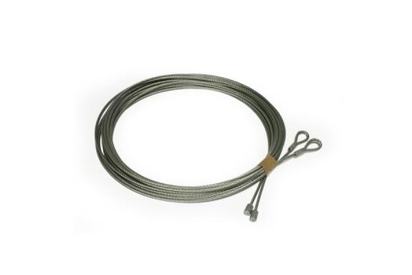 Cable acier pour porte de garage