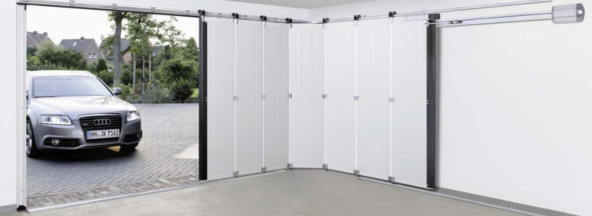 Installation porte de garage electrique