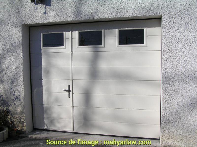 Porte de garage ecostar leroy merlin