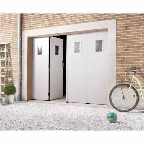 Chatiere porte de garage metallique