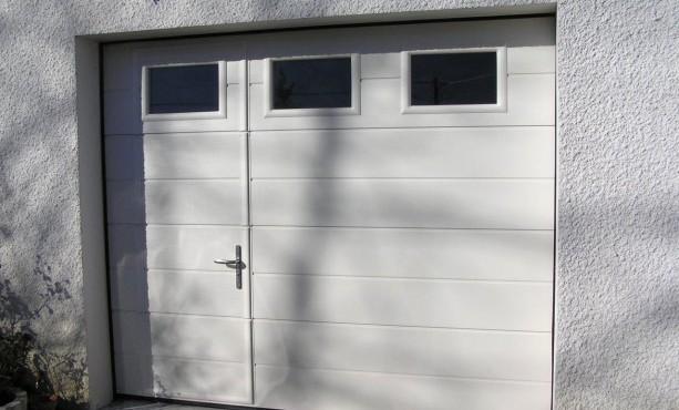 Porte de garage sectionnelle primo avis