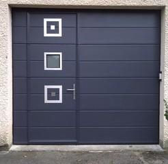 Porte de garage sectionnelle chretien