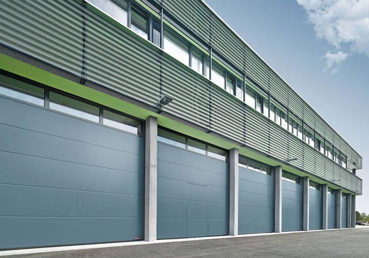Porte de garage industrielle prix