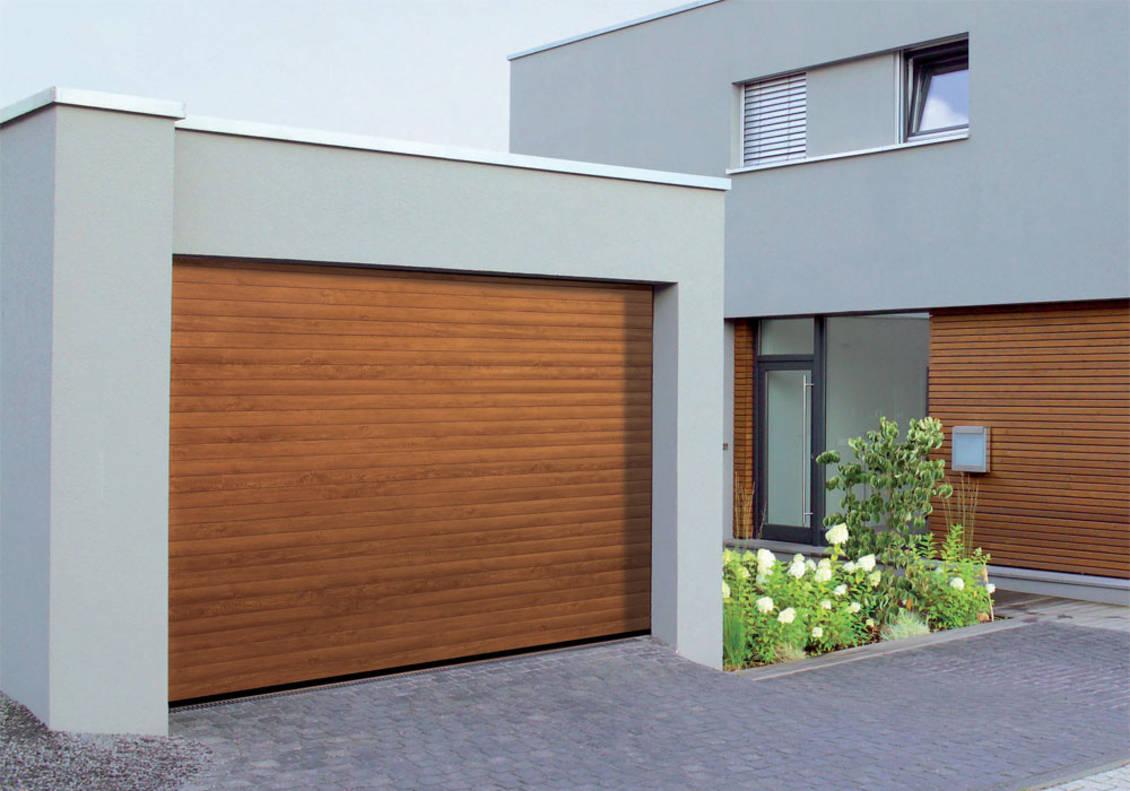 Porte de garage motorisée avec portillon brico depot