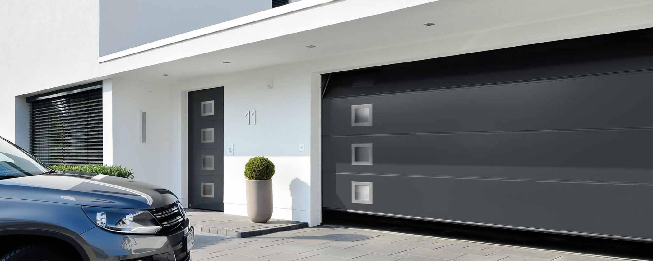 Porte de garage sectionnelle 4x3