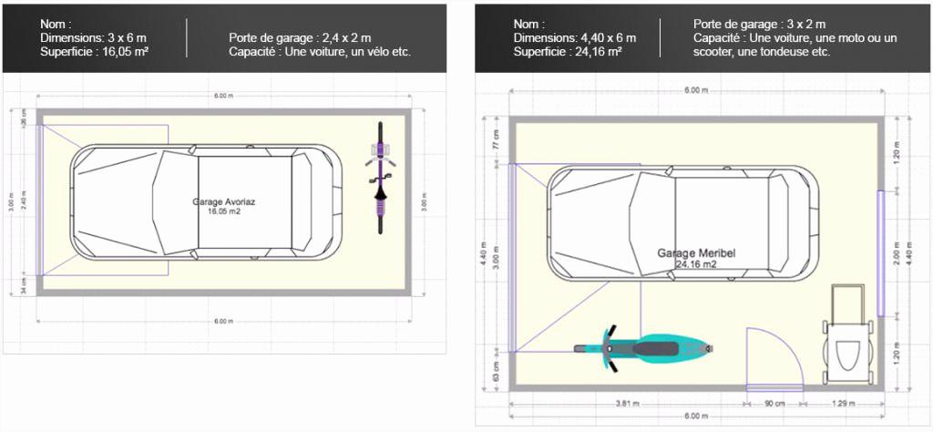 taille standard de porte de garage - bois-eco-concept.fr