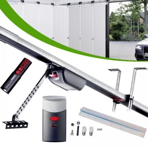 Porte de garage sectionnelle en kit motorisée