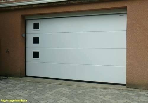 Porte de garage sectionnelle alsace