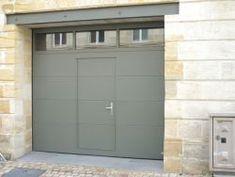 Porte de garage sectionnelle en verre