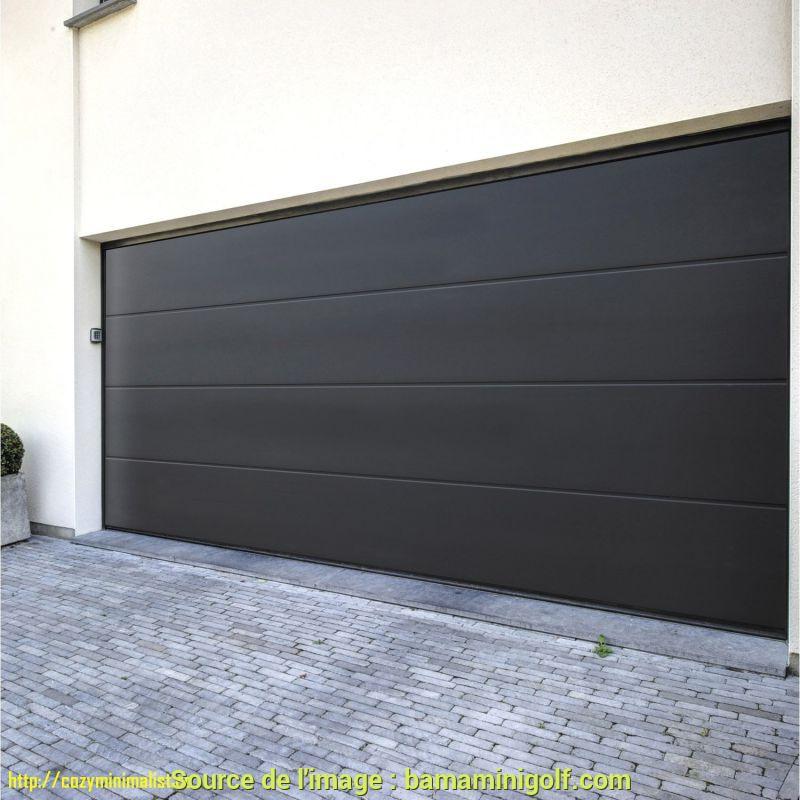 Porte de garage sectionnelle pour hangar
