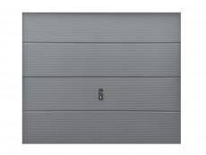 Porte de garage sectionnelle futura blanche