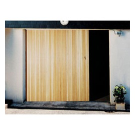 Automatiser une porte de garage coulissante bois eco Porte de garage eveno