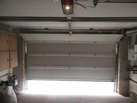 Porte de garage sectionnel hormann