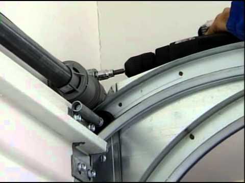Reparer un ressort de porte de garage