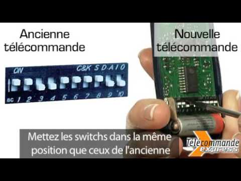 Comment programmer une télécommande de porte de garage