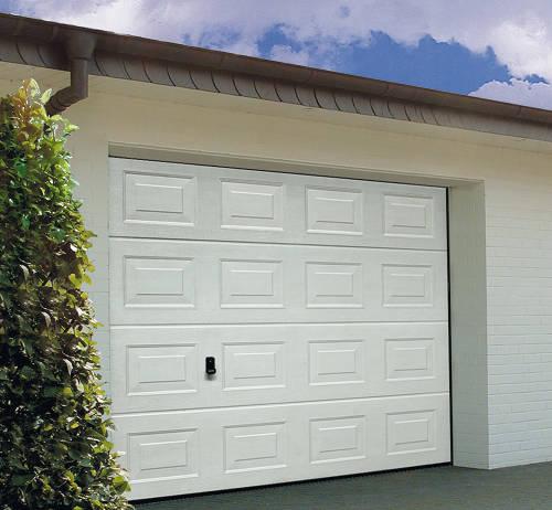 porte de garage sectionnelle avec serrure  boiseco