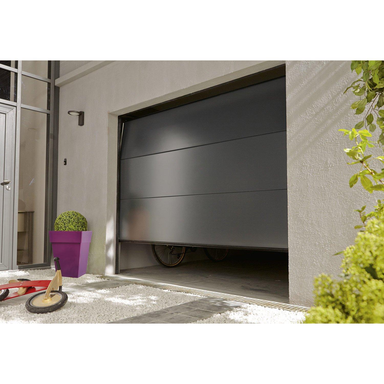 Porte de garage volet roulant brico depot bois eco - Porte garage roulant ...