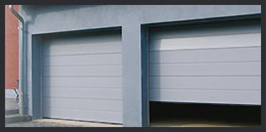 Porte de garage sectionnelle namur