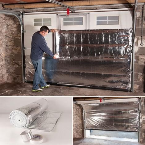 Isolation thermique porte de garage