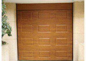 Porte de garage sectionnelle dimensions standard bois eco - Porte de garage sectionnelle 200 300 ...