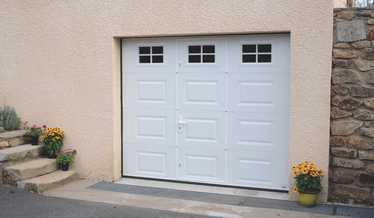 Porte de garage sectionnelle loire