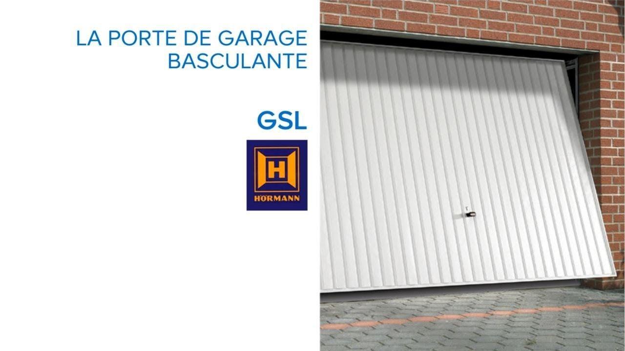 Kit rail porte de garage basculante