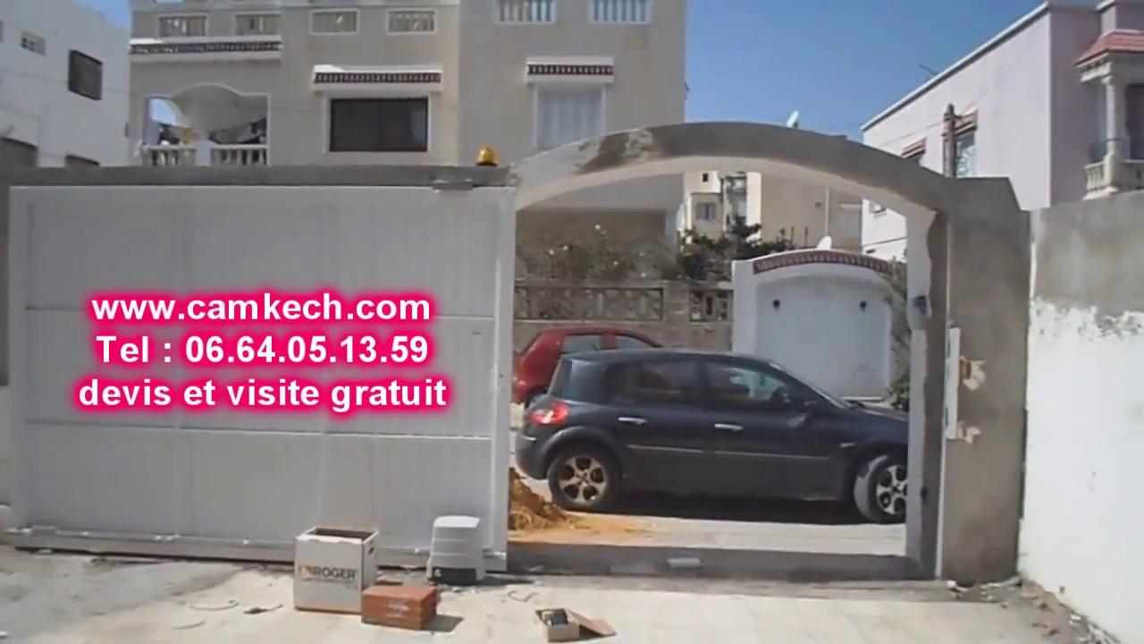 Porte de garage maroc