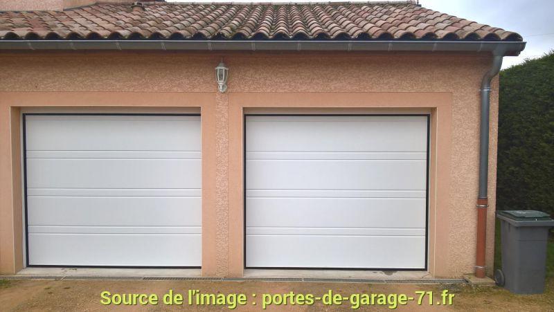 Porte de garage sectionnelle quelle marque