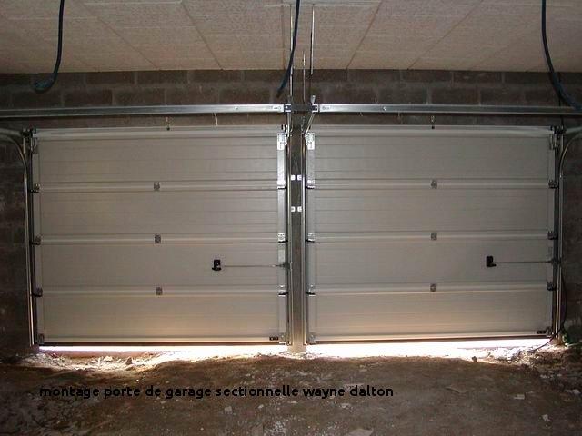 Porte de garage sectionnelle wayne dalton montage