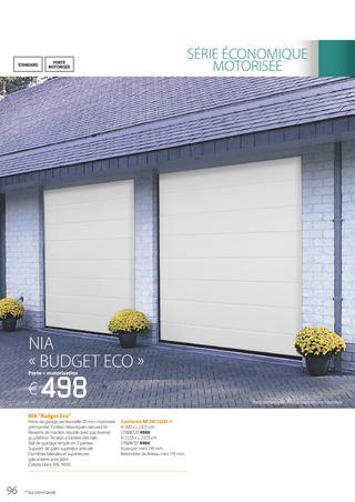 Porte de garage remat