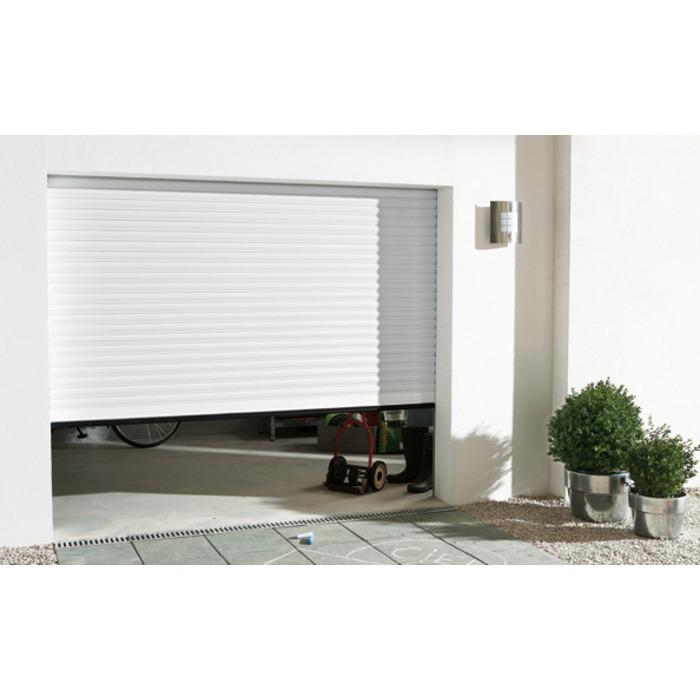 Porte de garage sectionnelle confort blanche 240 cm p600-2
