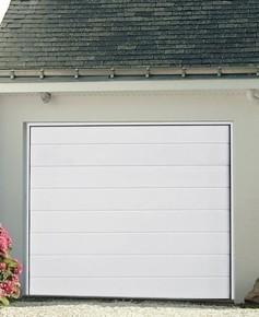 Porte de garage prémontée