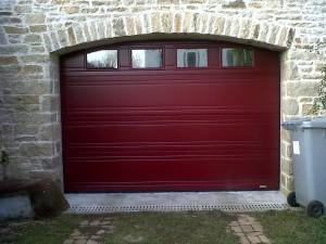 Porte de garage sectionnelle quimper