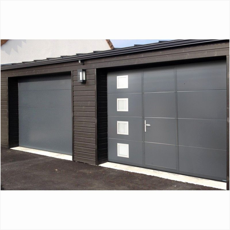poser une porte coulissante de garage bois eco. Black Bedroom Furniture Sets. Home Design Ideas
