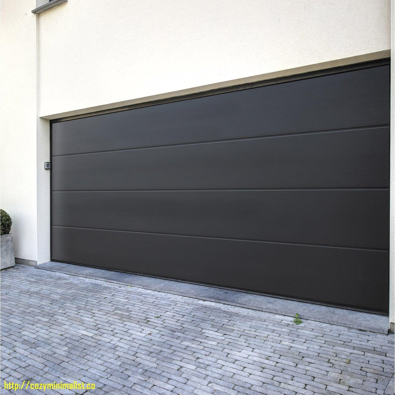 Cout porte de garage sectionnelle 5 m