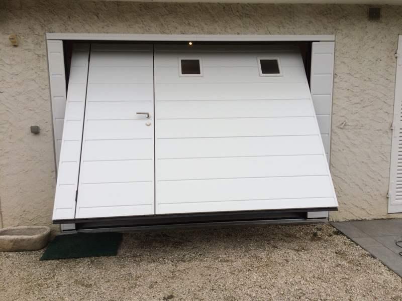 Isolant porte de garage coulissante