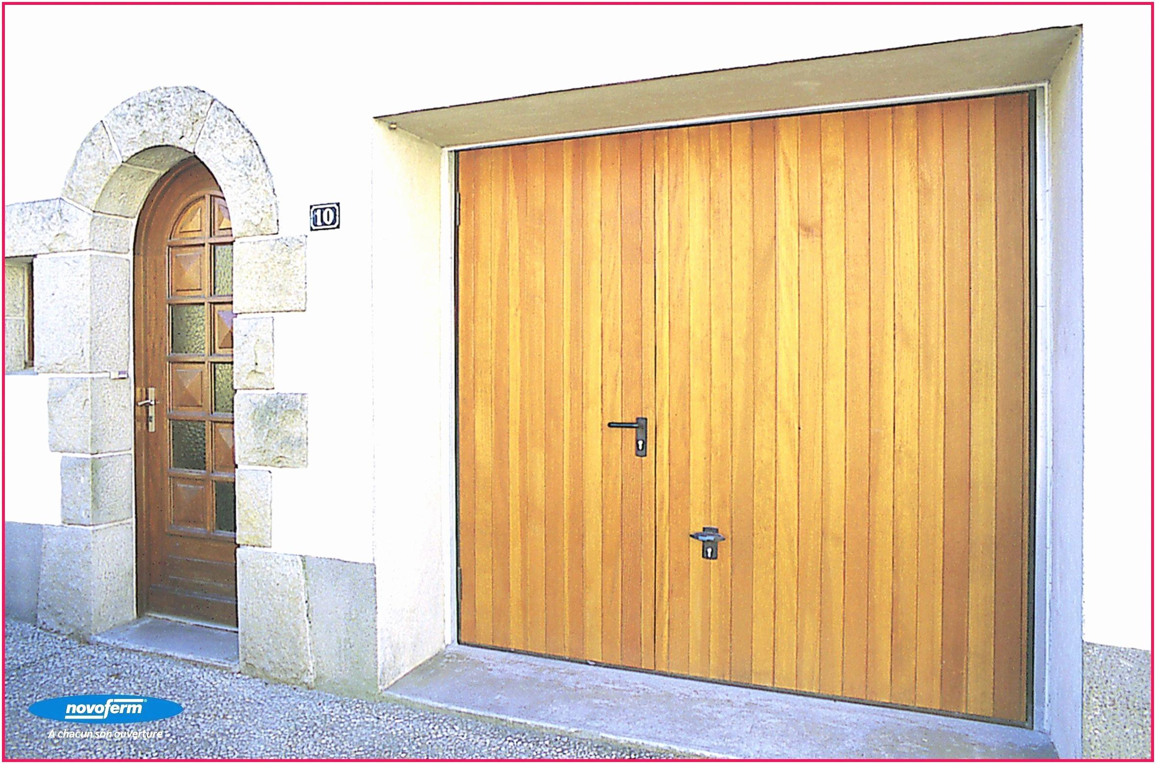 porte de garage basculante avec portillon brico depot