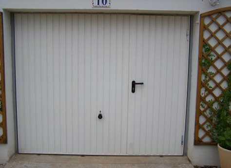 Porte de garage basculante avec portillon le bon coin